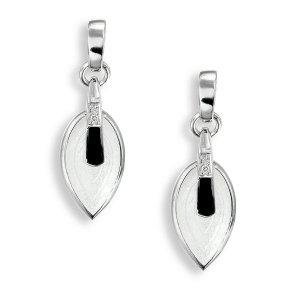 Nicole Barr, Modern Earrings, Sapphire Set