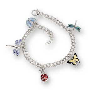 Nicole Barr, Insects Bracelet, Multi Colours