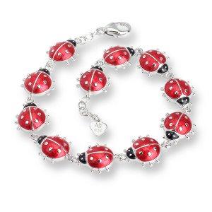 Nicole Barr, Ladybug Bracelet Red
