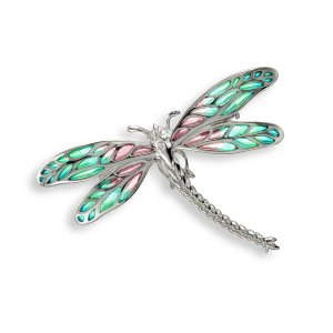 Nicole Barr, Dragonfly Brooch Pendant