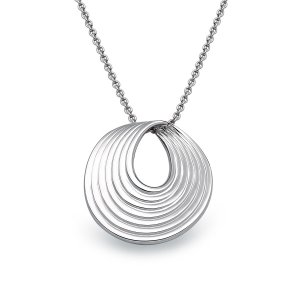 Viventy Sterling Silver Pendant Textured