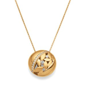 Viventy Yellow Gold Plated Pendant