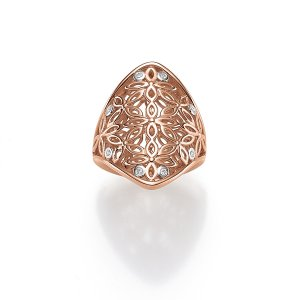 Viventy Rose Gold Plated Ring