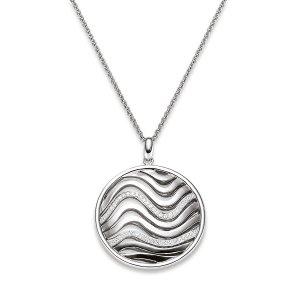 Viventy Sterling Silver Pendant Wave