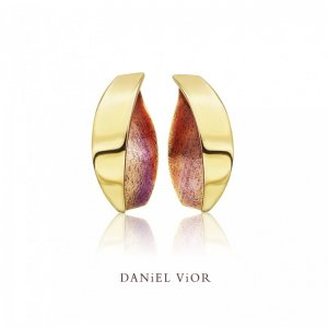 Daniel Vior, Silver And Gold Plated, ANCITERI Earrings