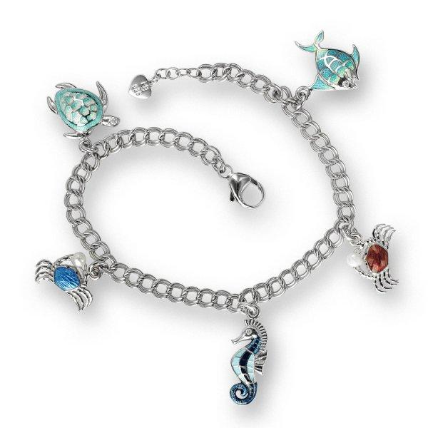 Nicole Barr, Ocean Treasure Bracelet, With Freshwater Pearl