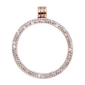 Nikki Lissoni Rose Gold Full Swarovski Mount