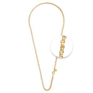 Nikki Lissoni Chain Yellow Gold Plated Small Link