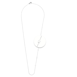 Nikki Lissoni HOPE Necklace Silver