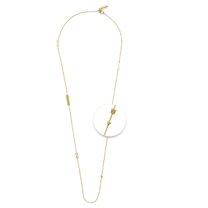 Nikki Lissoni Necklace Yellow Gold With Charms
