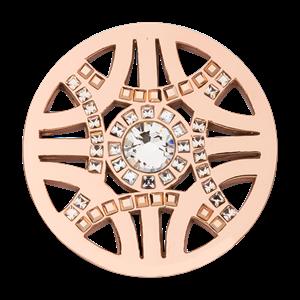 Nikki Lissoni Rose Gold Medium Royal Chic Coin