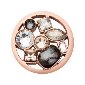 Nikki Lissoni Rose Gold Small My Treasury Coin