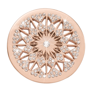 Nikki Lissoni Rose Gold Medium Marrakech Rising Star Coin