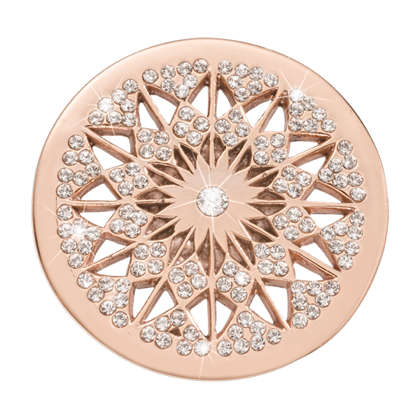 Nikki Lissoni Rose Gold Medium Marrakech Rising Star Coin