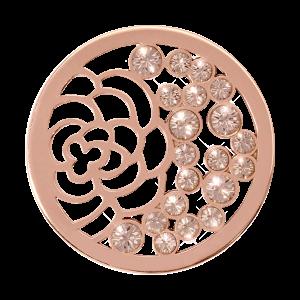 Nikki Lissoni Rose Gold Medium China Garden Coin
