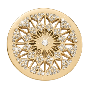 Nikki Lissoni Yellow Gold Medium Marrakech Rising Star Coin