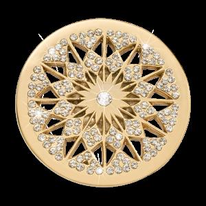 Nikki Lissoni Yellow Gold Medium Marrakech Rising Star Coin
