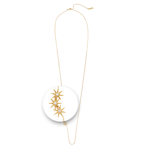 Nikki Lissoni Collected Stars Necklace Yellow Gold