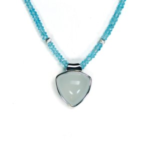 Lindenau Quartz Aquamarine Necklace