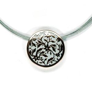 Lindenau Necklace Rose Gold and Black Rhodium Plated