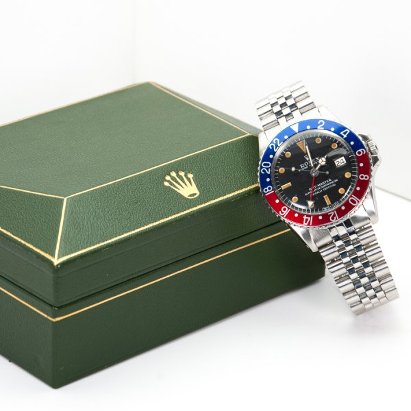 ROLEX GMT MASTER 1675 DISPLAY