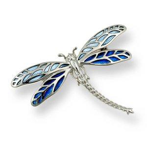 Dragonfly Brooch Pendant
