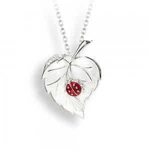 Nicole Barr Ladybug Necklace