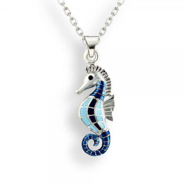 Nicole Barr Seahorse Pendant