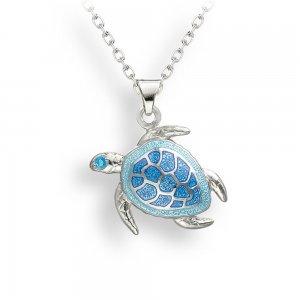 Nicole Barr Turtle Pendant