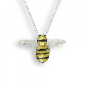 Nicole Barr Bumble Bee Pendant