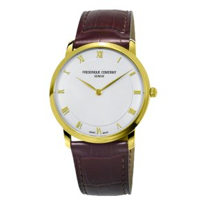 Frederique Constant SLIMLINE MID SIZE Yellow Gold Watch