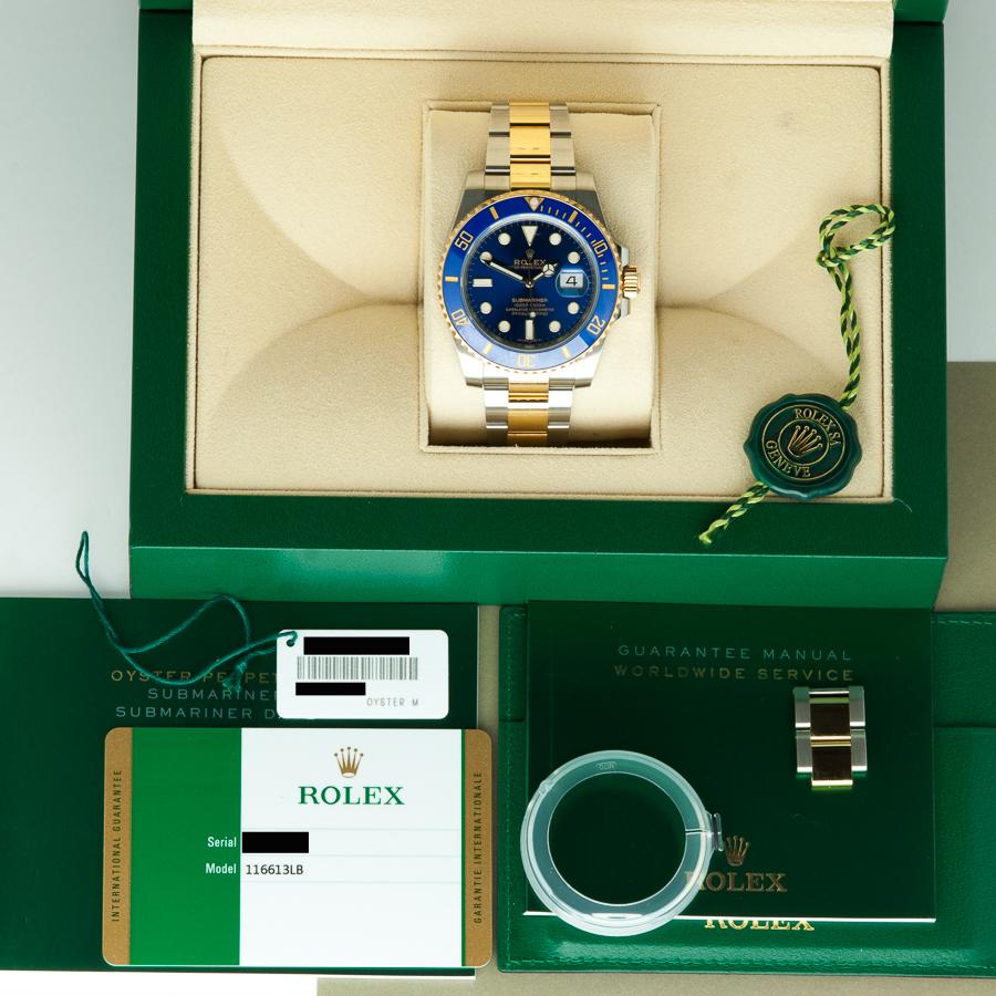 Rolex Submariner 116613LB BOX - Rosh Jewellers