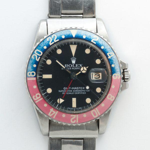 Rolex GMT Master 1675 'PEPSI' FACE