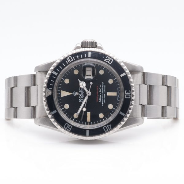 ROLEX SUBMARINER 1680 'SINGLE RED' FRONT