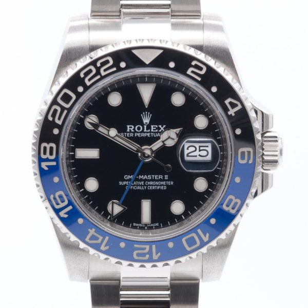 Rolex GMT 116710BLNR BATMAN FACE