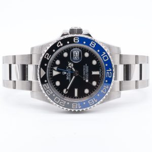 Rolex GMT 116710BLNR BATMAN FRONT