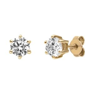 Viventy Yellow Gold Plated Earrings