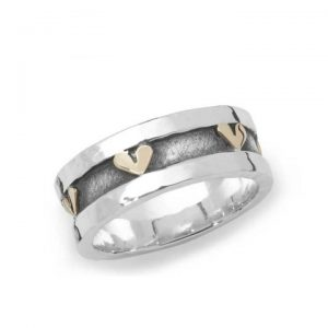 Linda Macdonald Heart Ring 31027