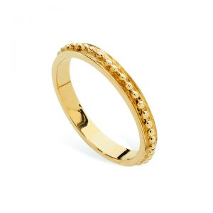 Linda Macdonald Spotty Gold Ring 31031