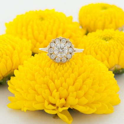 ROSH Bespoke Floral Ring