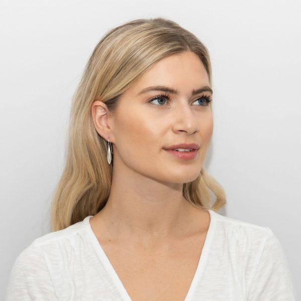 Sarah Alexander Graphite Earrings