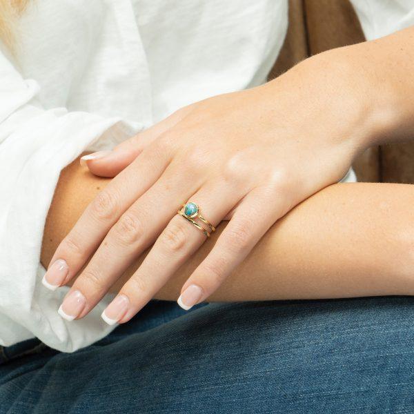 Sarah Alexander Moon River Ring