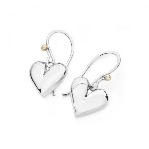 Linda Macdonald Heart Earrings DVP
