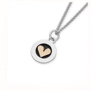 Linda Macdonald Heart Necklace Small EMEDH