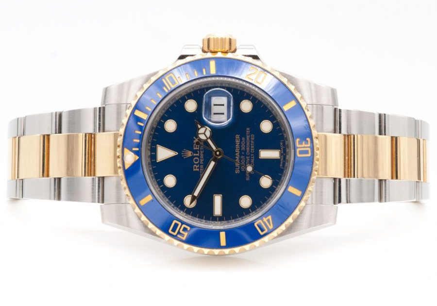 ROLEX SUBMARINER 116613LB FACE