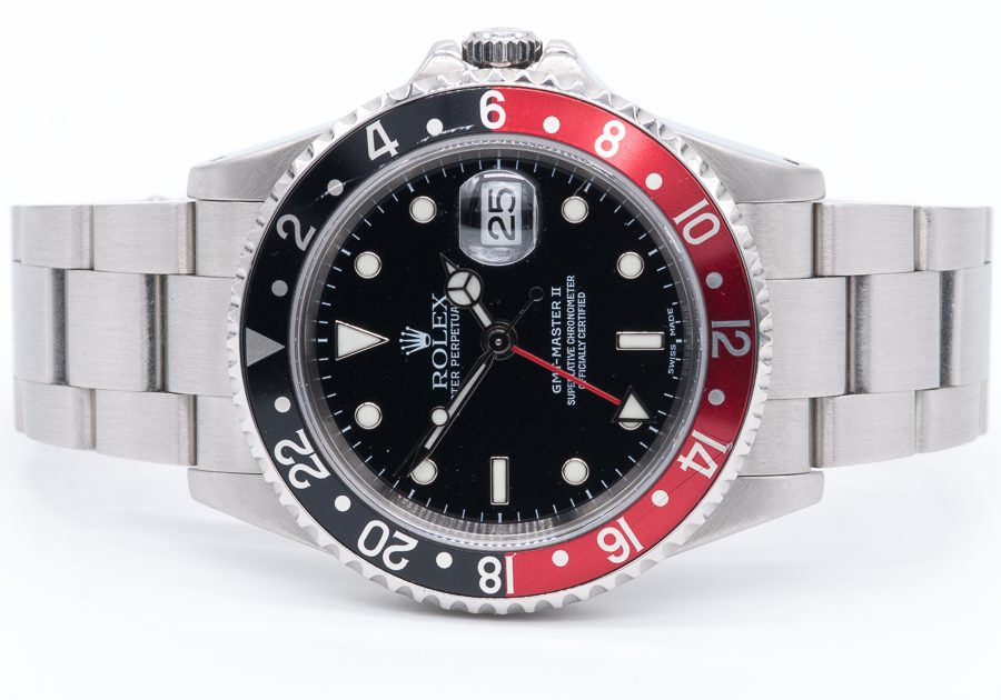 ROSH29057 Rolex GMT Master II 16710 COKE FRONT