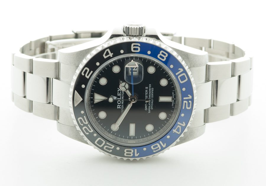 Rolex GMT BATMAN 116710BLNR FRONT